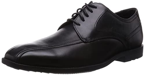 Rockport Global Road Bike Toe, Men's Derby Lace-Up, Black (Black)