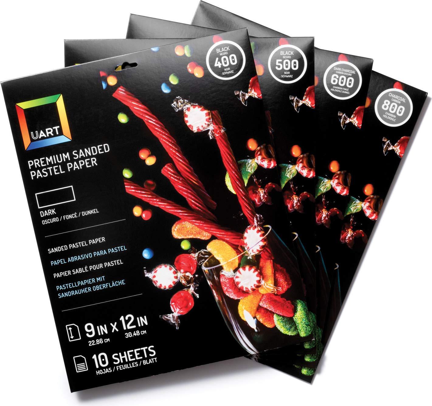 UART Premium Dark Pastel Paper (9    x 12 ) 800 Grade Pad - 10 Sheets B07K7S5LPN | Nicht so teuer  9bbf19