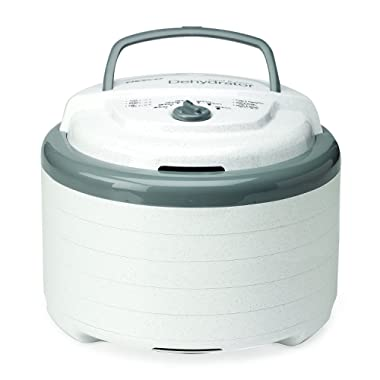 NESCO FD-75A, Snackmaster Pro Food Dehydrator, White, 600 watts