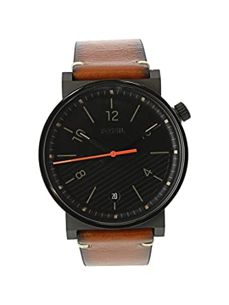 8a47778b5 Buy Fossil Barstow Analog Black Dial Men's Watch-FS5507 Online at Low  Prices in India - Amazon.in