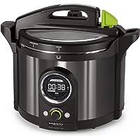 National Presto 02143 Presto Precise 10-Quart Multi-use Programmable Plus Electric Pressure Cooker, Black Stainless…