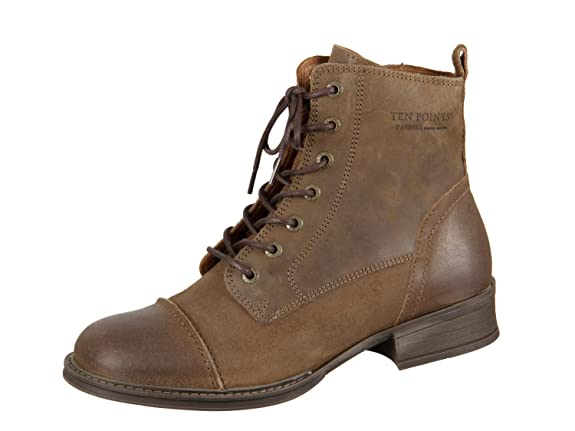 TEN POINTS Pandora 126015-332 Tobacco Leather Leather