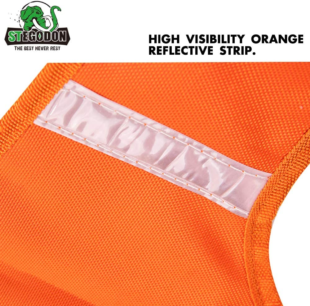 STEGODON Winch Damper Cable Cushion Orange 4x4 Recovery Line Dampener Safety Blanket Car Off-Road