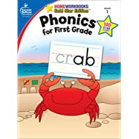 Phonics for First Grade, Grade 1: Gold Star Edition