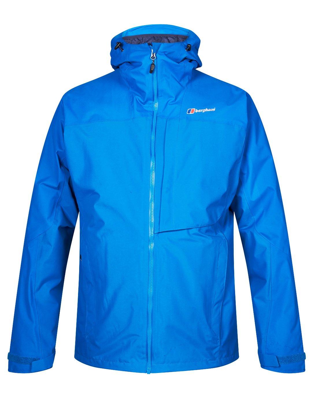 Berghaus Veste 3 en 1 Homme Ben Alder 3-In-1 Snorkel bleu rouge Dahlia XL