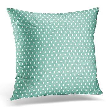 Amazon Emvency Throw Pillow Cover Vintage Green And White Tiny Adorable Tiny Decorative Pillows
