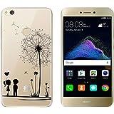 "Custodia Huawei P8 Lite 2017 , TUTUWEN Cover Huawei P8 Lite (2017) Silicone Trasparente TPU Flessibile Sottile Bumper Case per Huawei P8 Lite (2017) 5.2"""