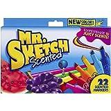 Mr. Sketch Chiseled Tip Marker, 2054594, 22 Assorted Scented Markers