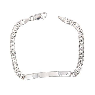 2bad337bd6bbd L Atelier d Azur - Bracelet Homme Argent Massif 925 000 - Maille ...
