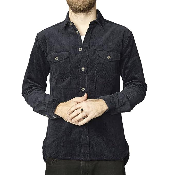Jason, Camisa para Hombre, Marrón, 41 cm (16) Suit