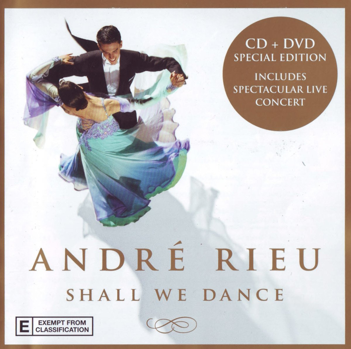 CD : Andre Rieu - Shall We Dance (With DVD, 2 Disc)