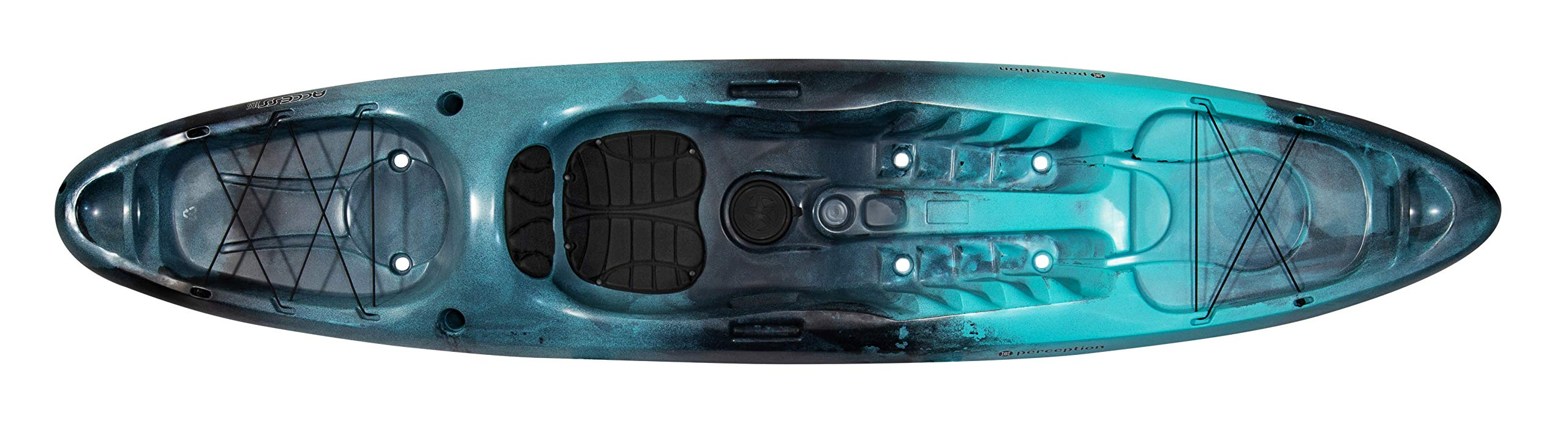 Perception Access | Sit on Top Kayak for Adults | Recreational Kayak | 11' 6'' | Dapper by Perception Kayaks