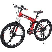 MuGuang 26 Pulgadas de 21 Velocidades de Bicicleta