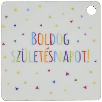 boldog születésnapot happy birthday 3dRose Boldog Szuletesnapot Happy Birthday, Hungarian Key Chains  boldog születésnapot happy birthday