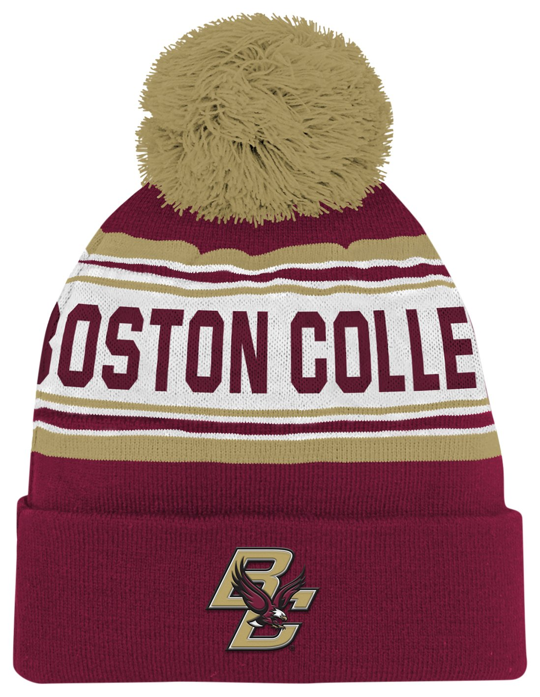 NCAA by Outerstuff NCAA boys Cuffed Knit With Pom Hat