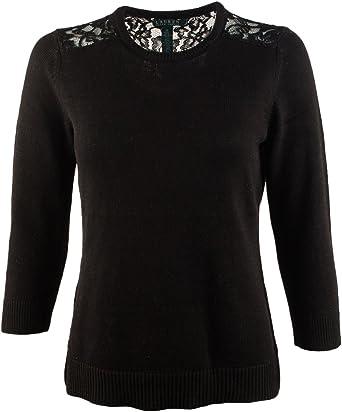 Nanquan Women Knitted Long Sleeve Pullover V-Neck Cutout T-Shirt Blouse Tops