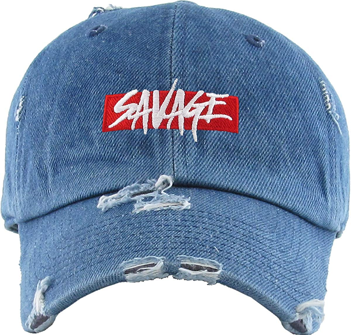 KBETHOS King Savage Legend G.O.A.T Dad Hat Baseball Cap Polo Style Unconstructed Cotton Adjustable Unisex