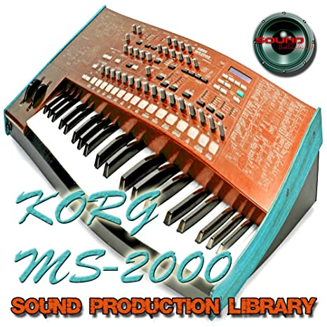 Amazon com: KORG MS2000 - Large Sound Library - Original