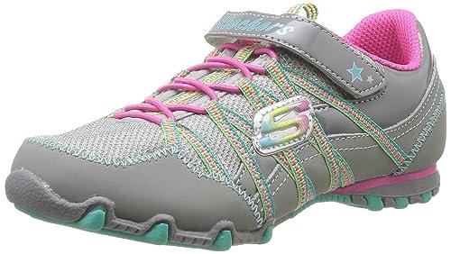 Skechers Biker IIFlygirls 82379L - Zapatillas para niñas, color negro, talla 28