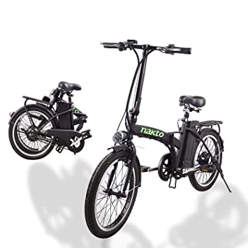 Amazon.com: Nakto - Bicicletas eléctricas para adultos (26.0 ...