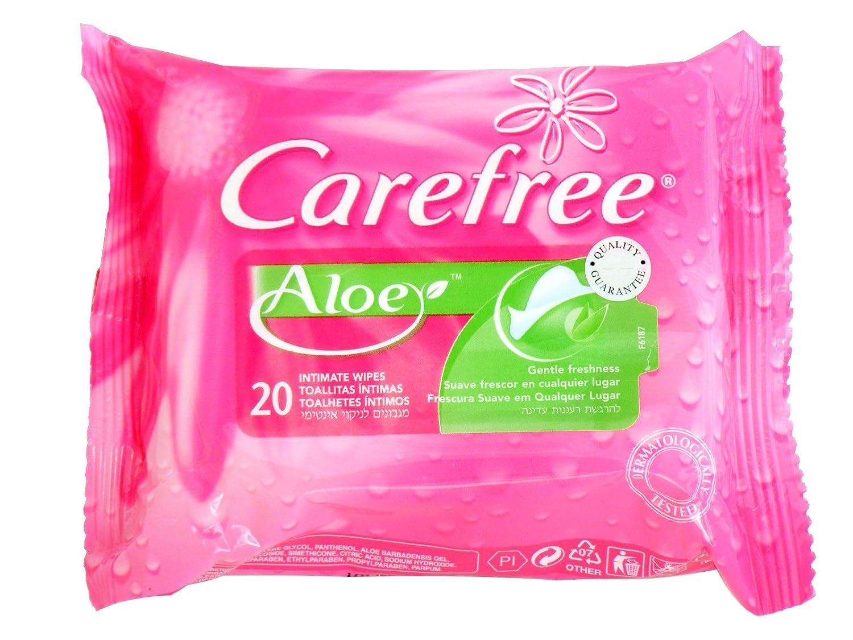 Carefree - Toallitas Intimas Camomila, 20 unidades: Amazon.es: Alimentación y bebidas