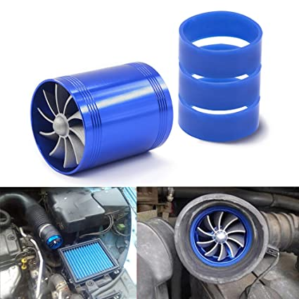 Ventilador doble de la turbina de Mesllin, turbocompresor del ahorrador de combustible del gas del
