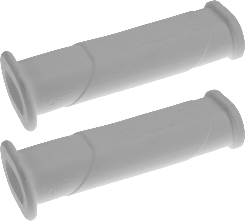 2x Schubkarren Universal Griffe Ovale Rohre GELB Karrengriff Schiebkarre Schubkarrengriffe Sackkarre