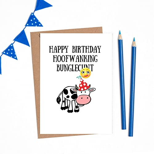 Birthday Card Funny Offensive Birthday Card Funny Offensive 1 X A6