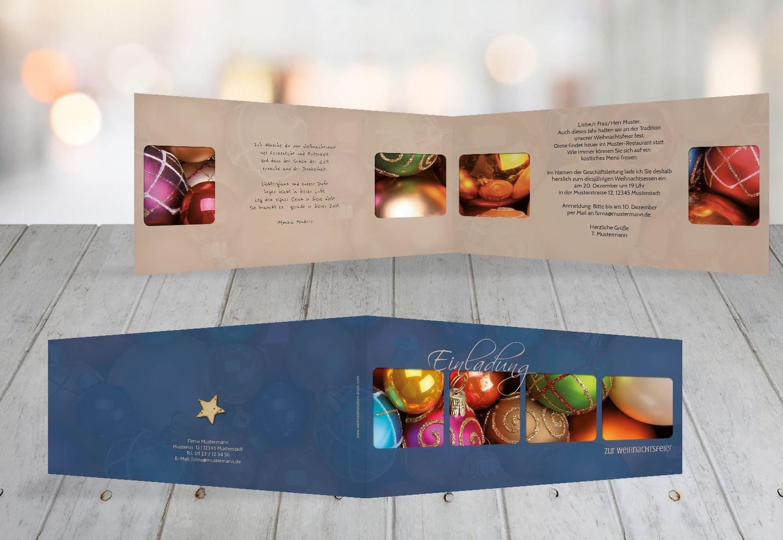 Günstige Christbaumkugeln.Kartenparadies Einladungskarte Zu Weihnachten Einladung
