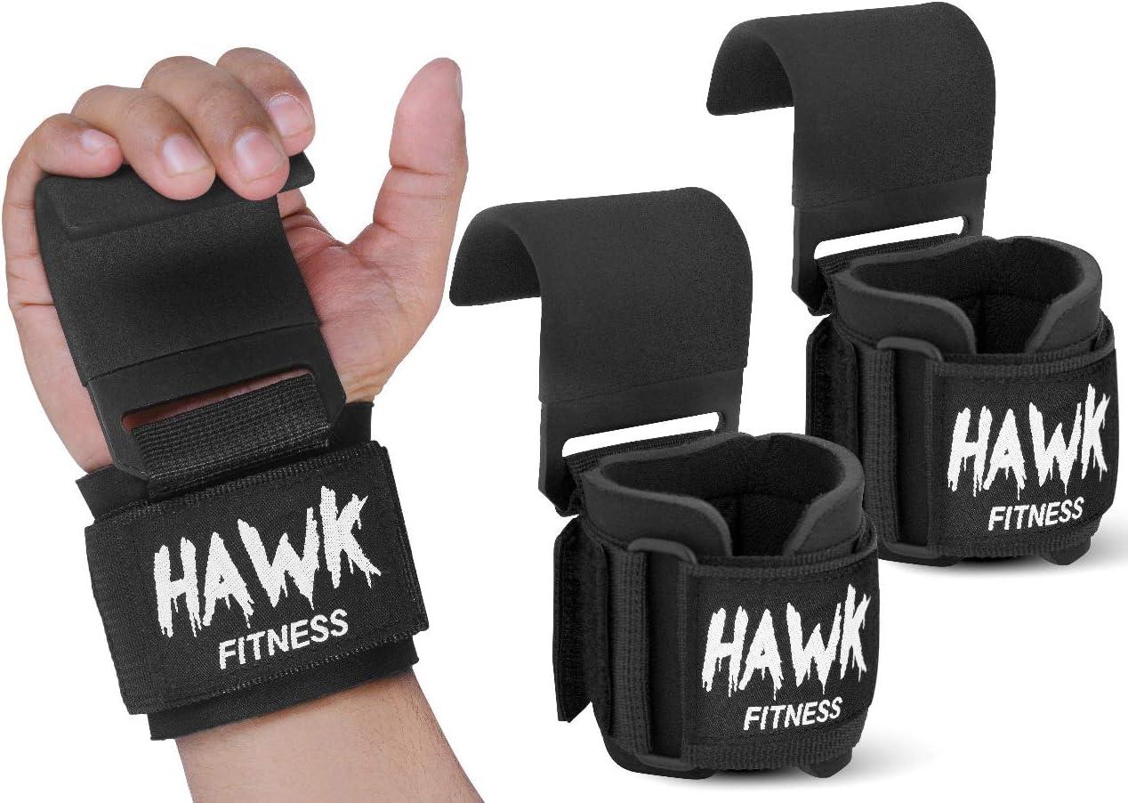 Bodybuilding F/ür Fitness Profi Zughilfen Powerlifting Workout Lifting Straps 1 Paar - Gepolsterte Wrist Support Wraps Krafttraining Kreuzheben und Fitness-Workout - Hebeb/änder
