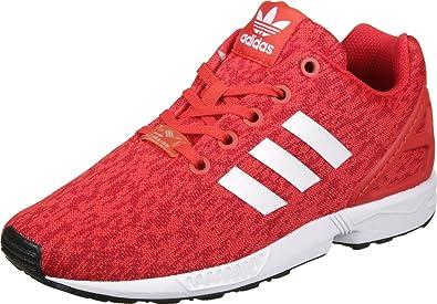d477a07264f adidas Unisex-Kinder Zx Flux J Fitnessschuhe, rot: Amazon.de: Schuhe &  Handtaschen