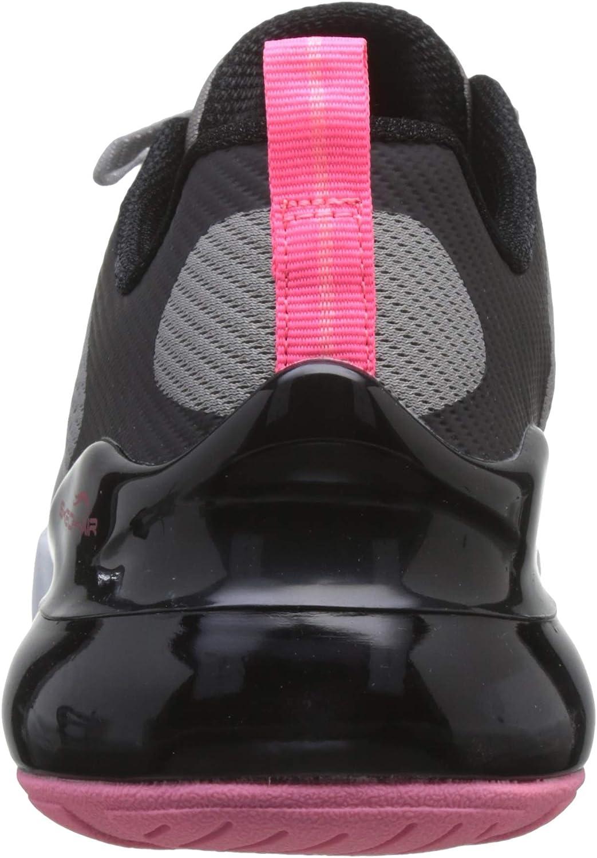 Skechers Damen Skech-air Stratus Sneaker Gray Black Mesh Pink Trim Gybk
