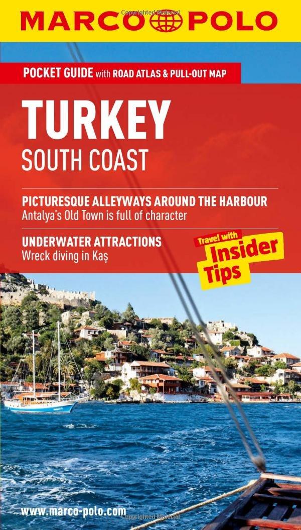 8384c5b0279ac Turkey South Coast Marco Polo Pocket Guide (Marco Polo Travel Guides ...