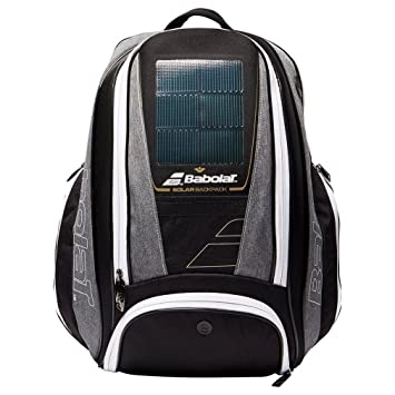 Nuevo Babolat solar tenis mochila accesorios deportivos negro, Negro, Talla Única: Amazon.es: Deportes y aire libre