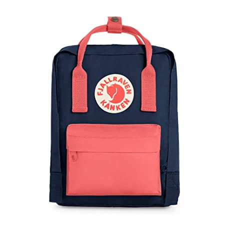 007aa4b1d Fjallraven - Save The Arctic Fox Mini Kanken Backpack for Everyday Royal  Blue/Peach Pink: Amazon.in: Sports, Fitness & Outdoors