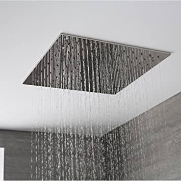 Hudson Reed Duschkopf Trenton Tile - Quadratische Unterputz ...