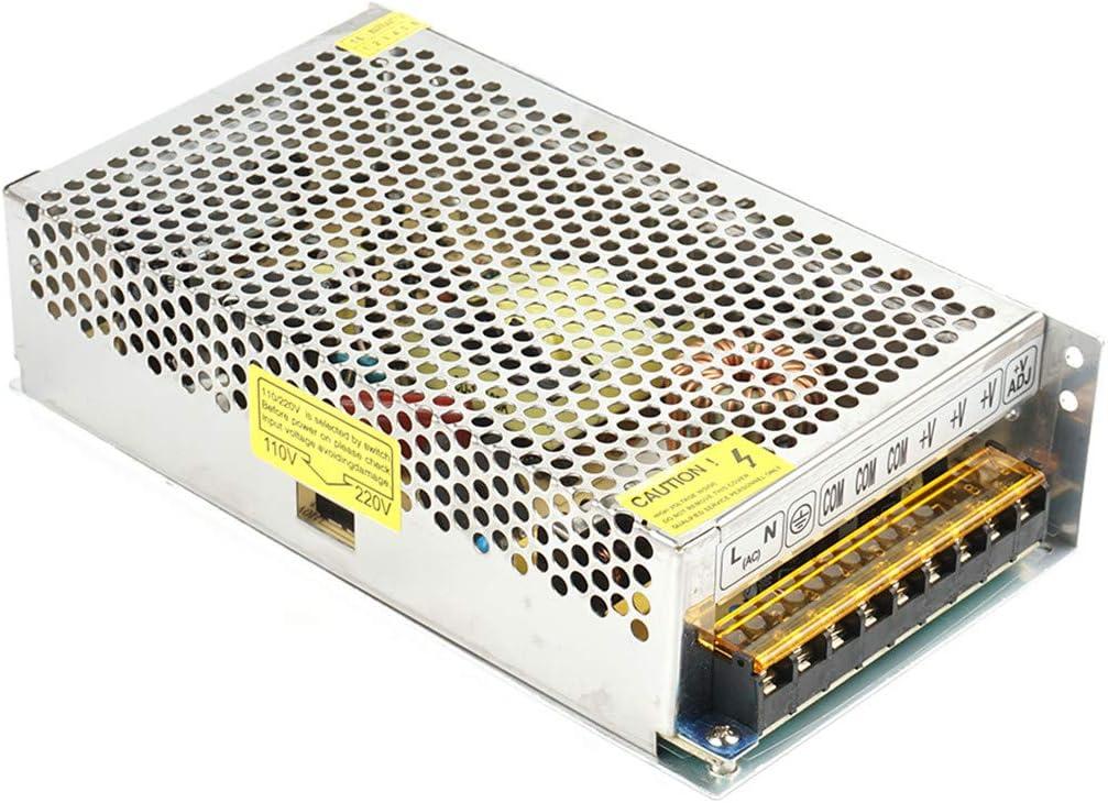 12V 360W Trasformatore,AC220V a DC12V 30A Universale Regolato Commutazione Trasformatore Adattatore di Alimentazione per LED Striscia,Stampanti 3D,Telecamere Impianti Di Sorveglianza