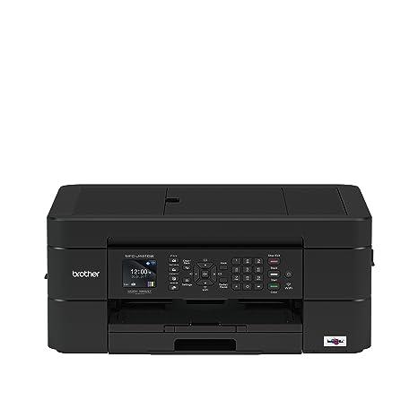 Brother MFC-J491DW - Equipo multifunción de Tinta con fax (A4, Wi-Fi, impresión dúplex), Color Negro