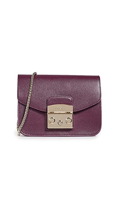 8600b77f9 Furla Women's Metropolis Mini Crossbody Bag, Armanto, One Size ...