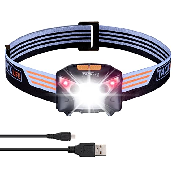 Review LED Headlamp, USB Rechargeable