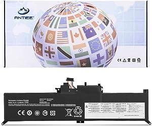 ANTIEE 00HW026 00HW027 01AV432 01AV433 Laptop Battery Replacement for Lenovo ThinkPad Yoga 260 Series Notebook 00HW027 SB10F46464 SB10F46465 SB10F97589 15.2V 44Wh 4-Cell