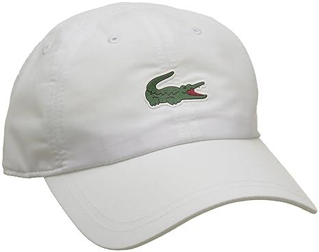 745c3a4f0 Lacoste Cap Pem White Adjustable: Amazon.com.au: Fashion