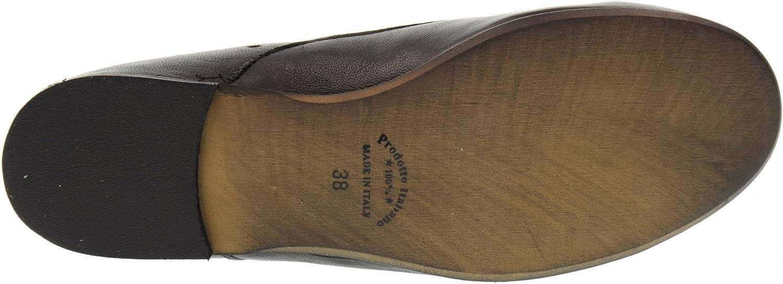 ERMAN'S Scarpe Donna Mocassino 230 Nero Nero
