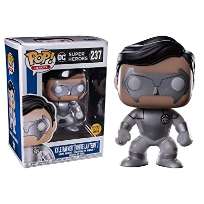 POP! 2020 SDCC Fugitive Toys Exclusive Funko Kyle Rayner (White Lantern) Glow in The Dark: Toys & Games