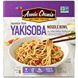 Annie Chun's Yakisoba Noodle Bowl, Non-GMO, Vegan, Shelf-Stable; 8-oz (Pack of 6), Japanses-Style Savory Ready Meal