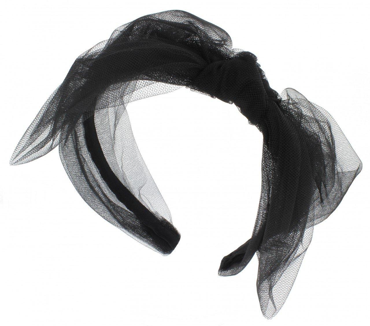 Jennifer Ouellette Fashion Tully Tulle Headband for Women by Jennifer Ouellette