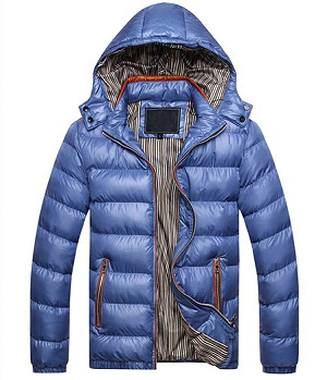 be-my-guest Men Jacket Warm Coat Outwear Winter Spring Parka Chaquetas Plumas Hombre Men Coats and Jackets at Amazon Mens Clothing store: