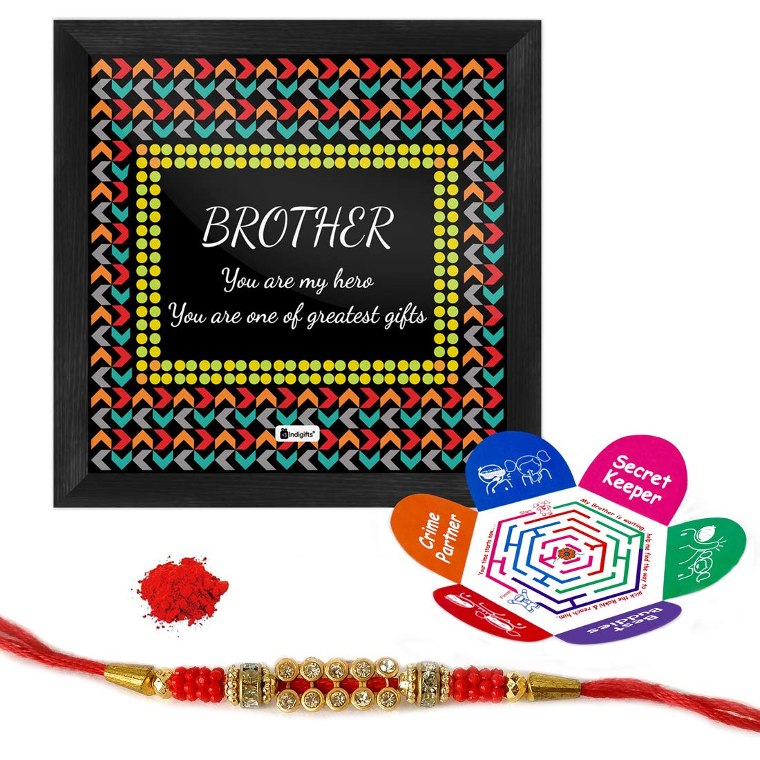 Indi ts Rakhi Gifts for Brother My Hero e of the Greatest Gifts