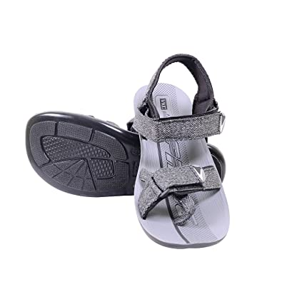 b95840d48 VKC Pride 3116 grey men sandals size 10: Buy Online at Low Prices in ...