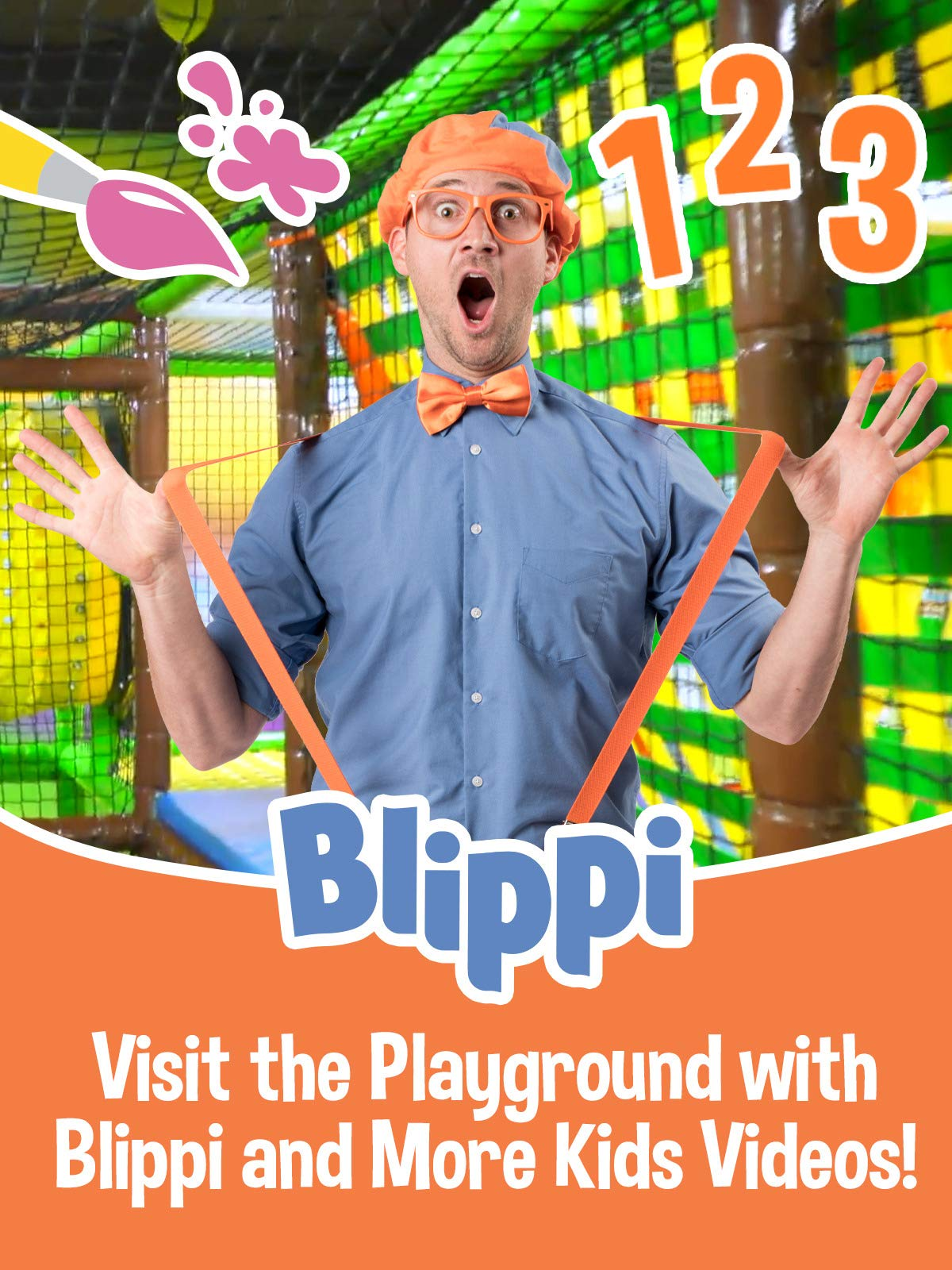 Blippi - Visit the Playground with Blippi and More Kids Videos!